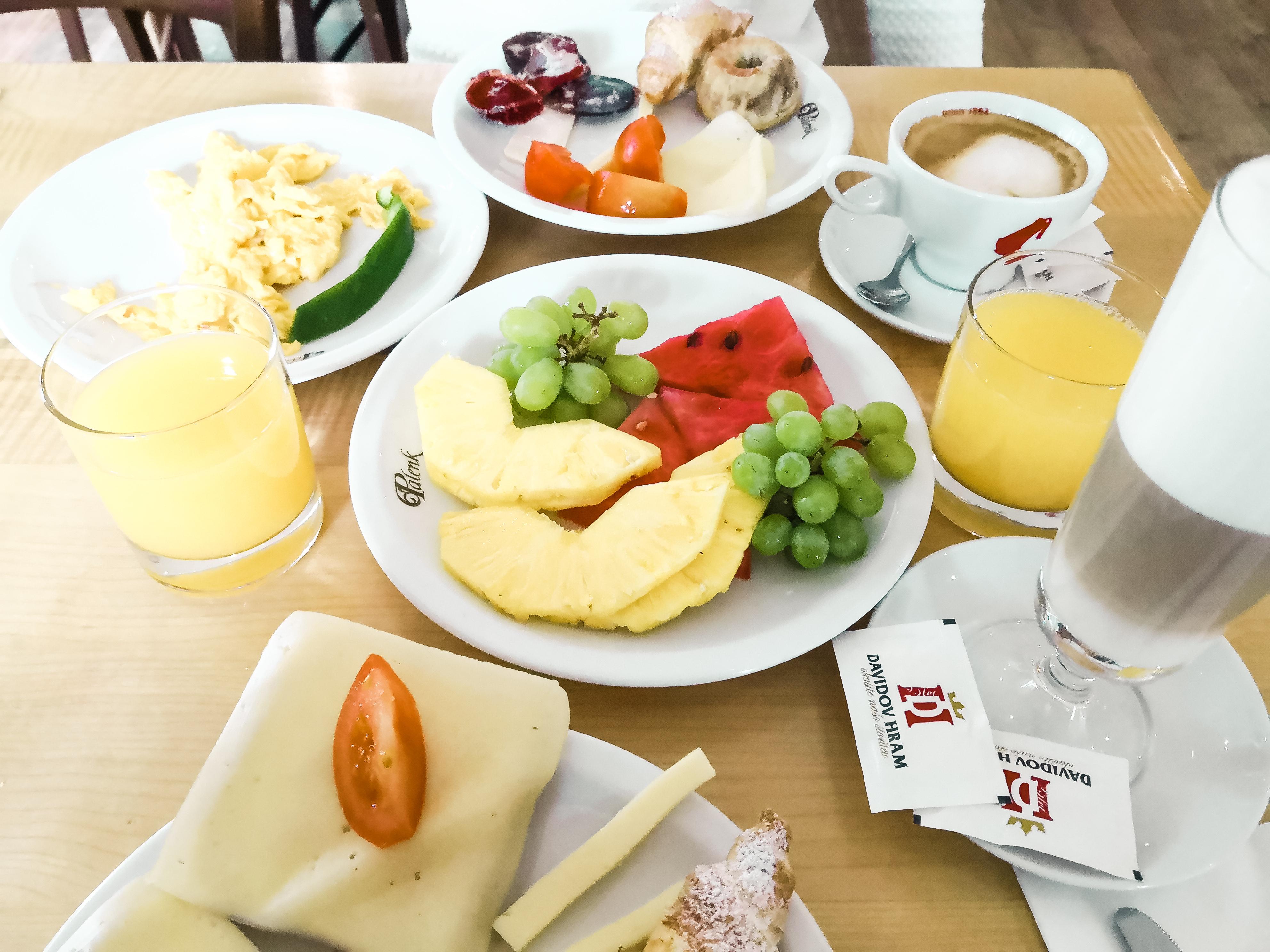 Zajtrk kmečka hiša ojstrica