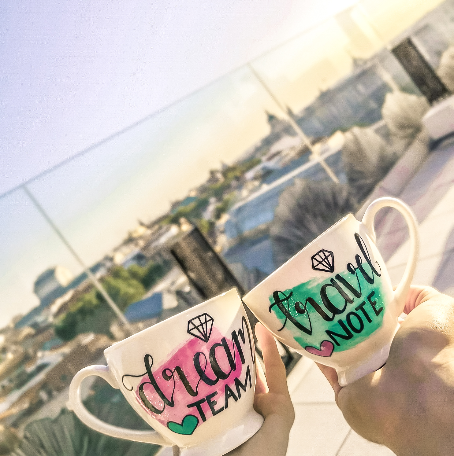 Sky bar madrid mugs and hugs
