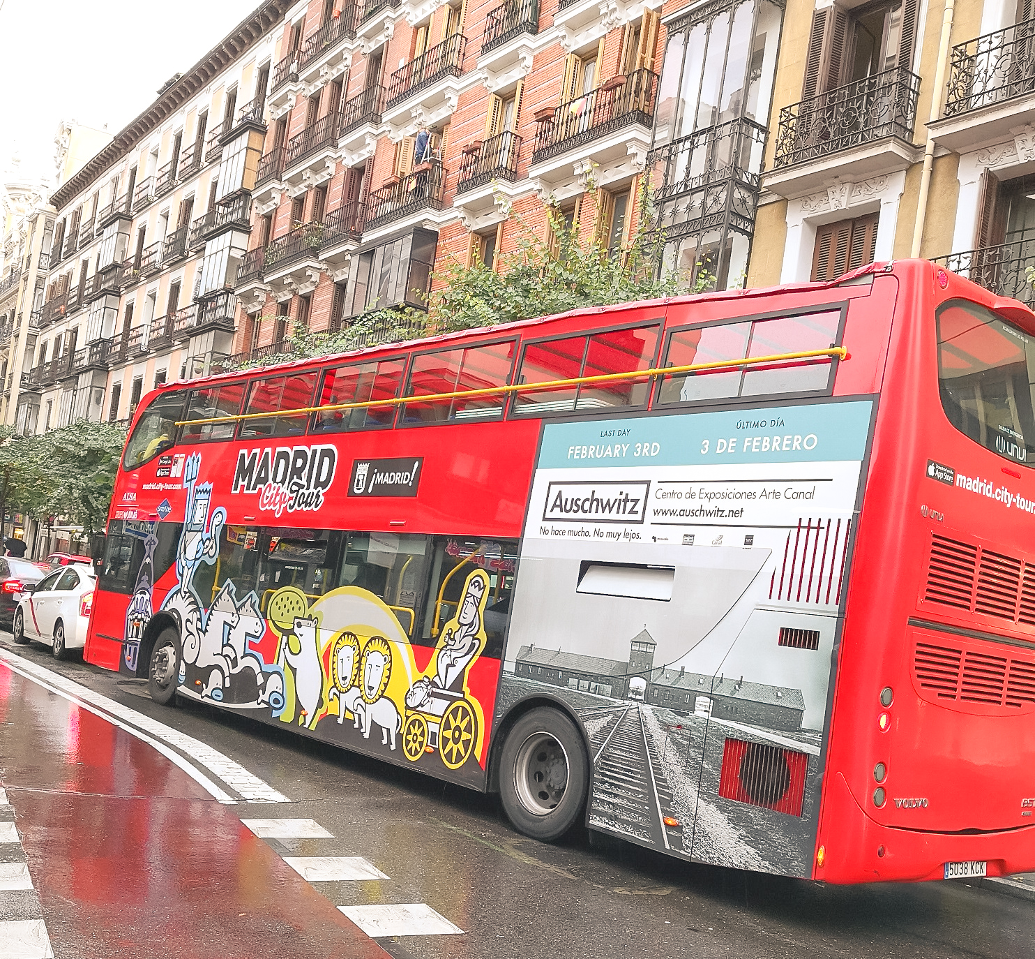 Visita madrid bus