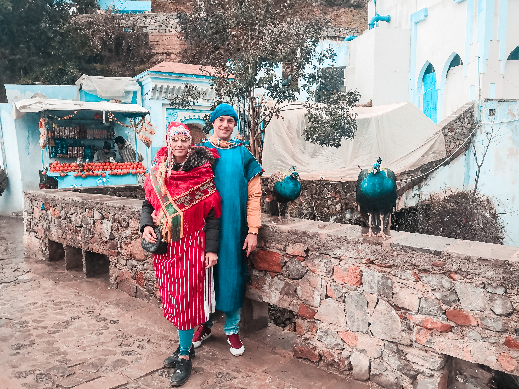 chefchaouen traditional moroccan clothing