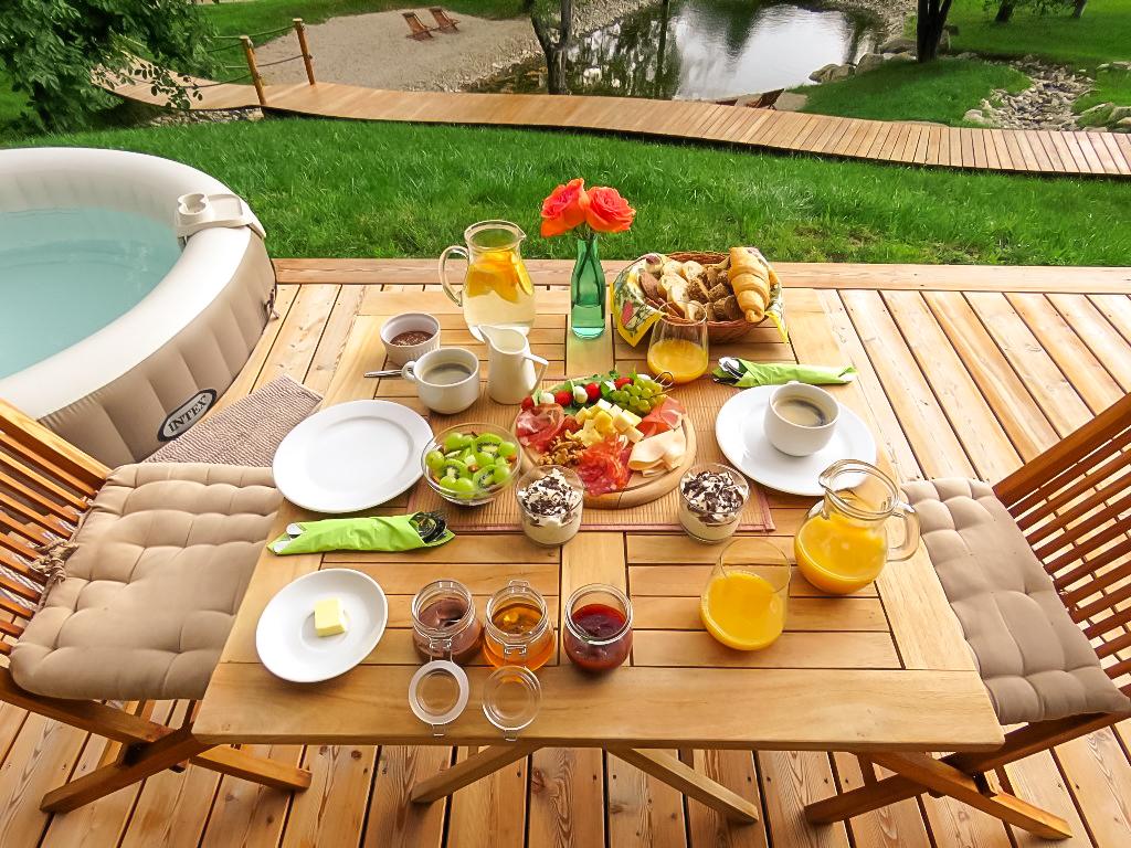 Chateau Ramšak zajtrk