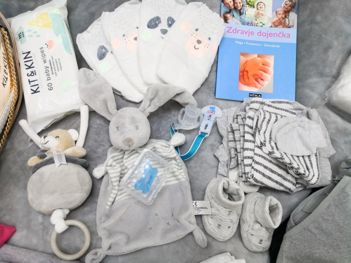 Seznam stvari za porodnišnico