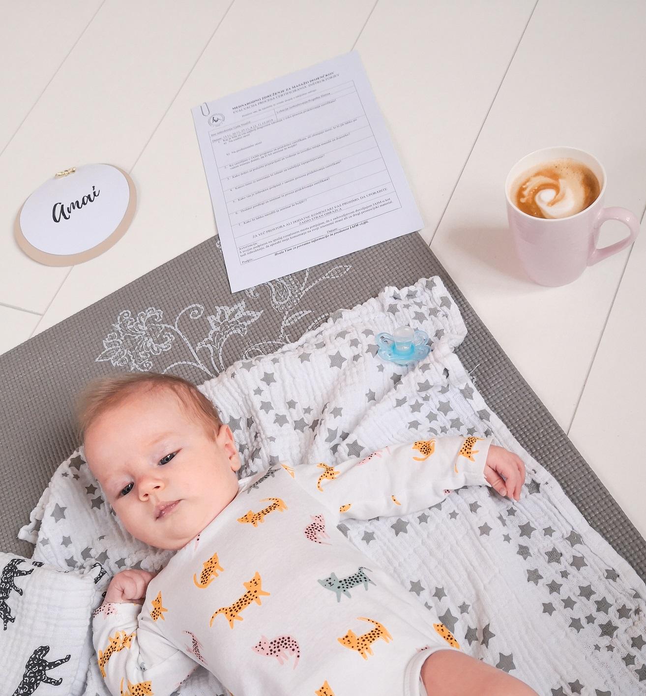 masaža dojenčka
