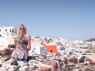 Pravljica na Santoriniju