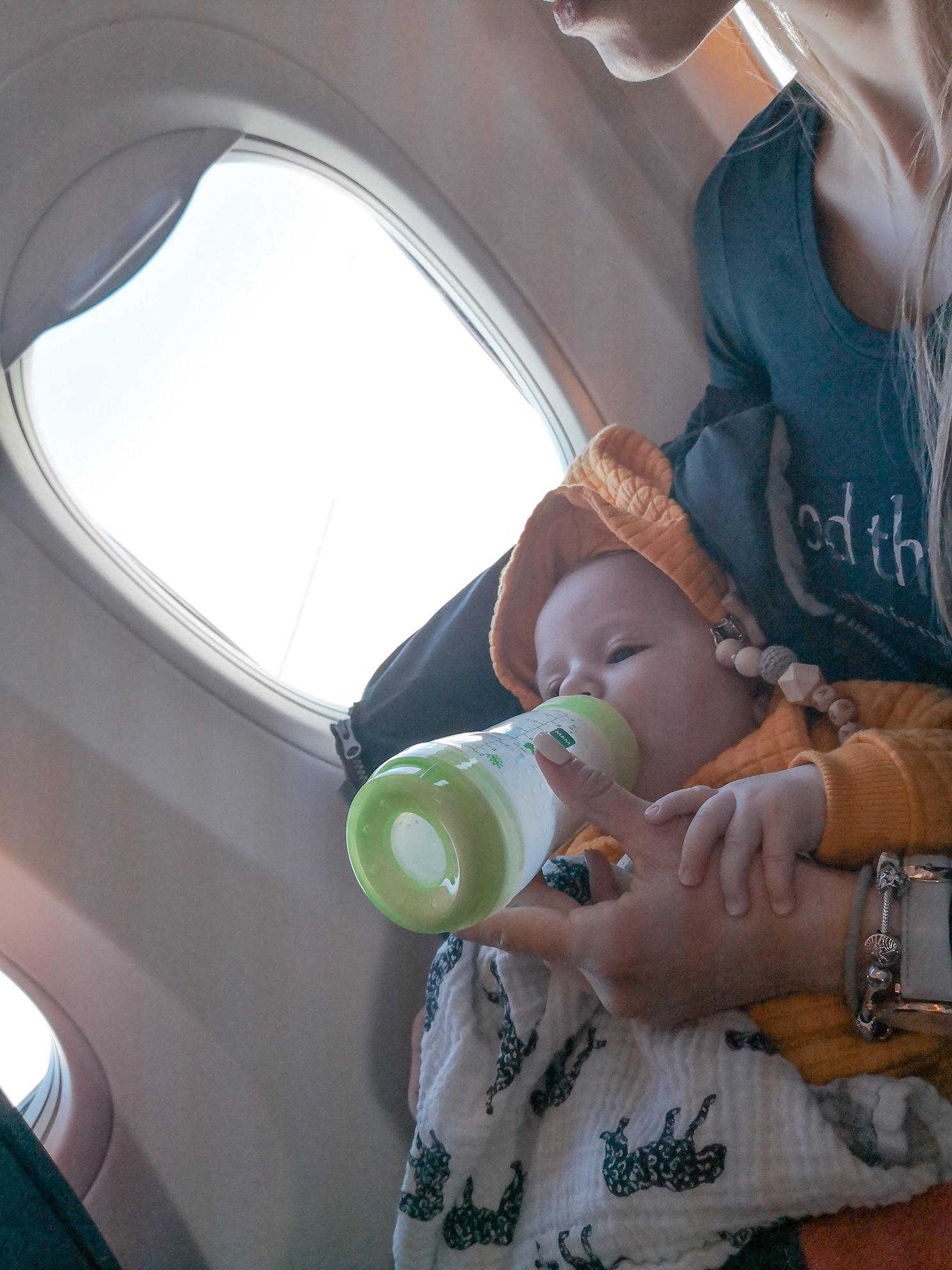 na letalu