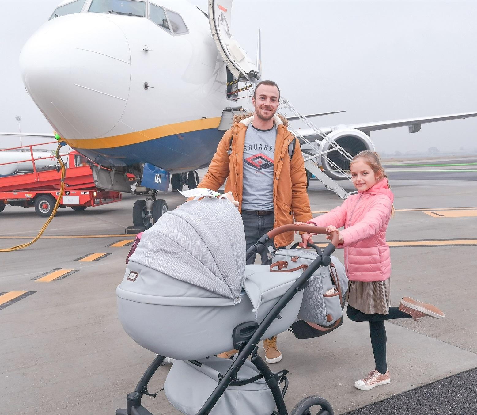 Nasveti: Dojenček na letalu