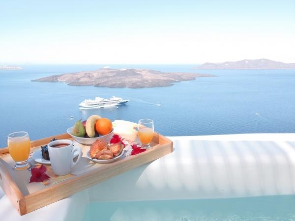 zajtrk z razgledom