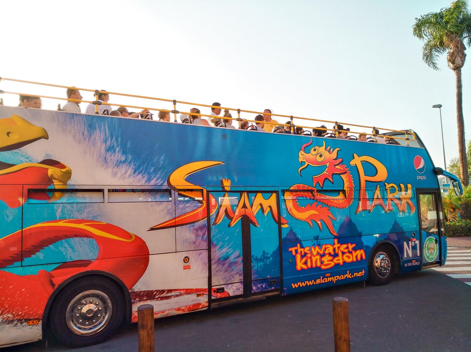 Siam park bus